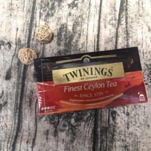 乾貨_Twinings唐寧極品錫蘭茶